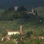 La Rocca vista da Agliana