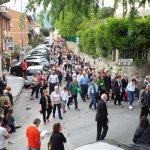La processione dei fedeli