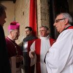 Arrivo del Vescovo alla Pieve