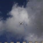 Il drone sui merli
